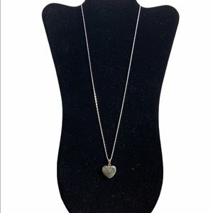 Heart Stone Pendent Necklace